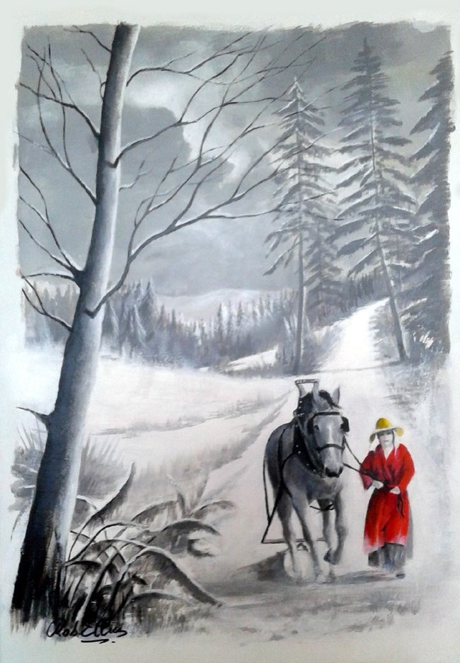 2020 il neige sur la Madeleine