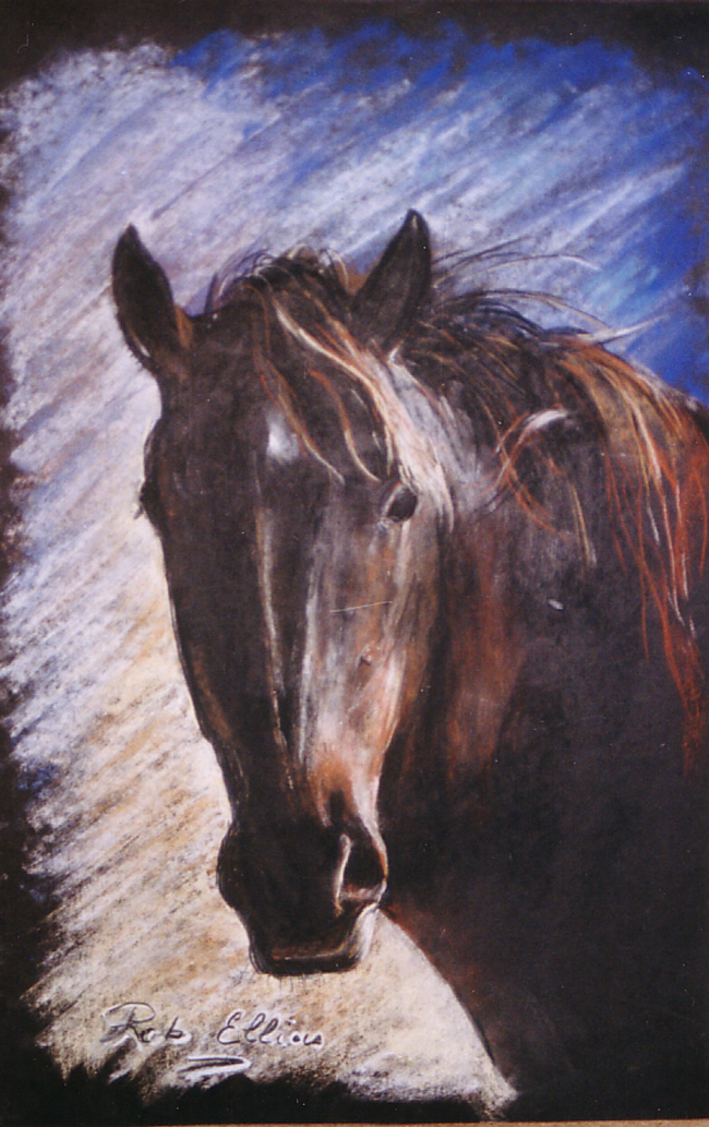 cheval pastel