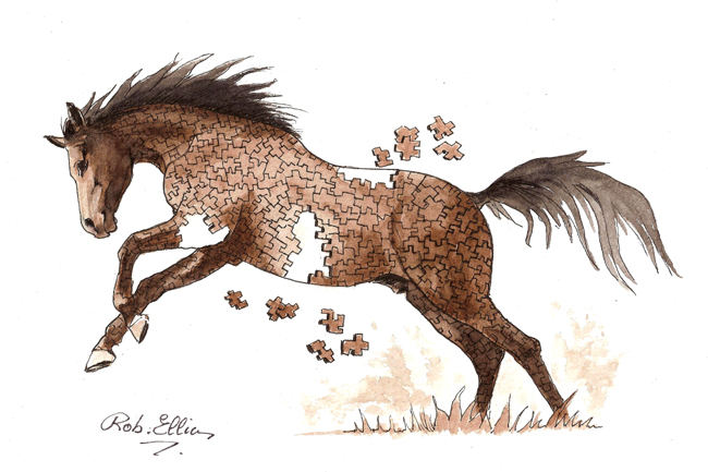 cheval pour Fontalon