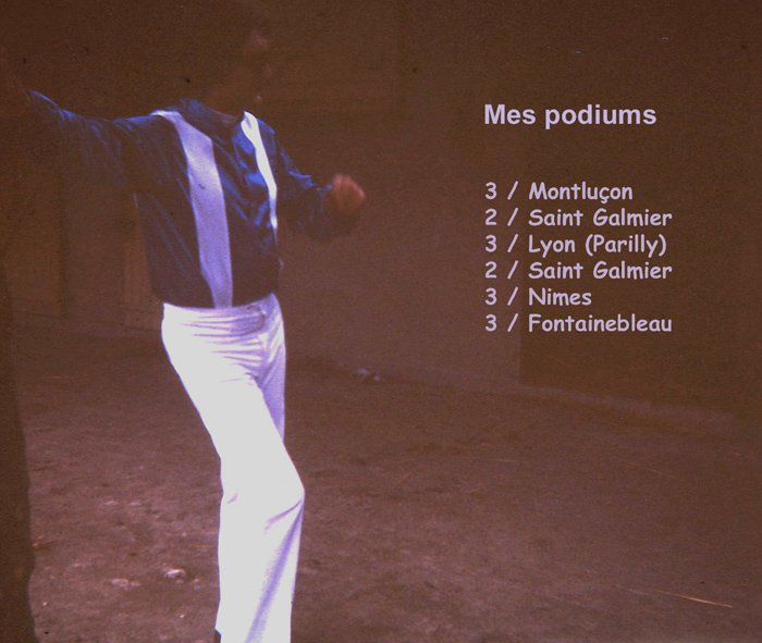 mes 6 podiums