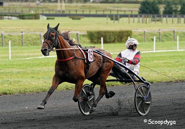 ©Scoopdyga - Cleangame, vainqueur impressionnant du Grand Prix Anjou-Maine