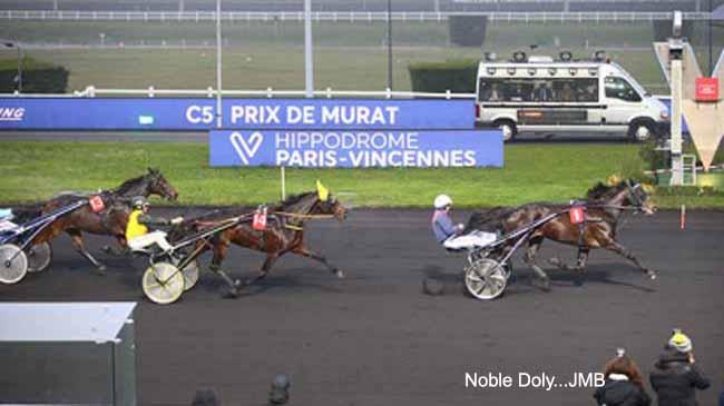 Jeudi 5 dec victoire de Noble Doly JMB
