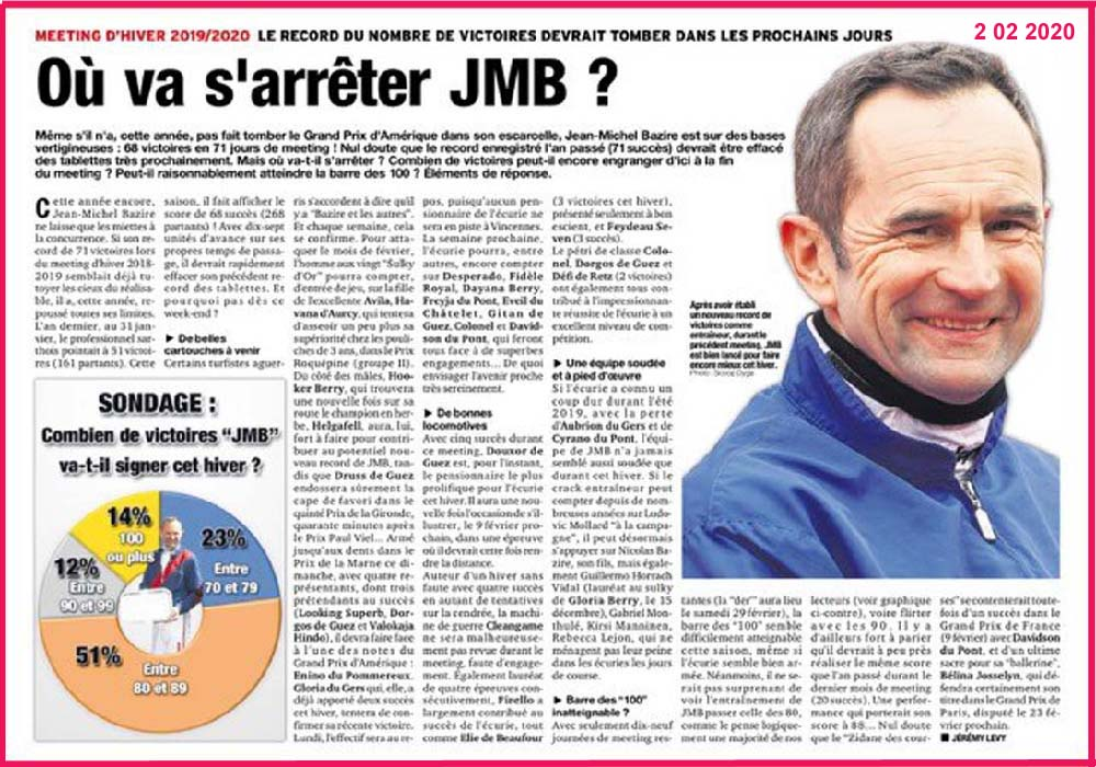JMB et les autres le 2 02 2020