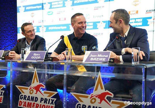 ©Scoopdyga - Le podium des drivers réuni en conférence de presse