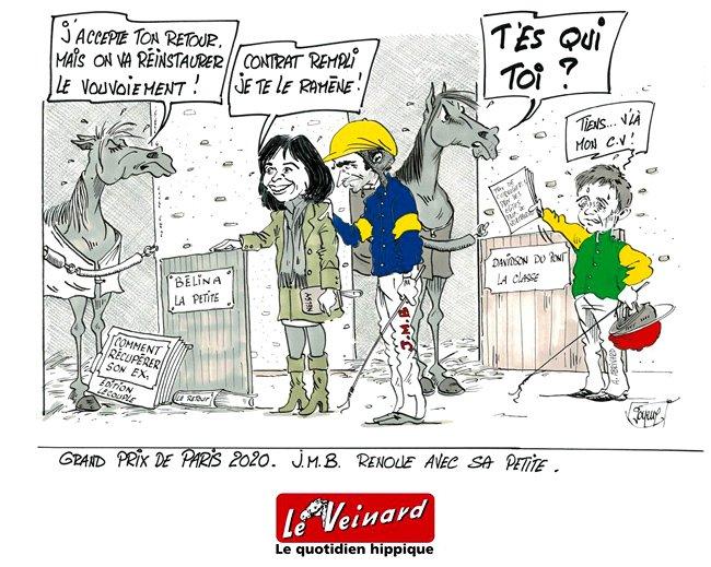 Ce dimanche à Paris-Vincennes - Grand Prix de Paris