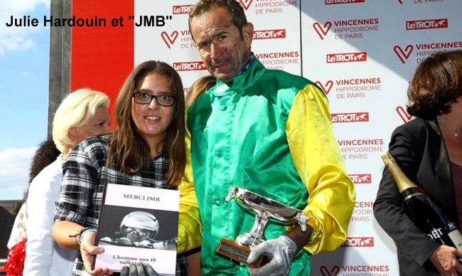 Julie Hardouin et JMB