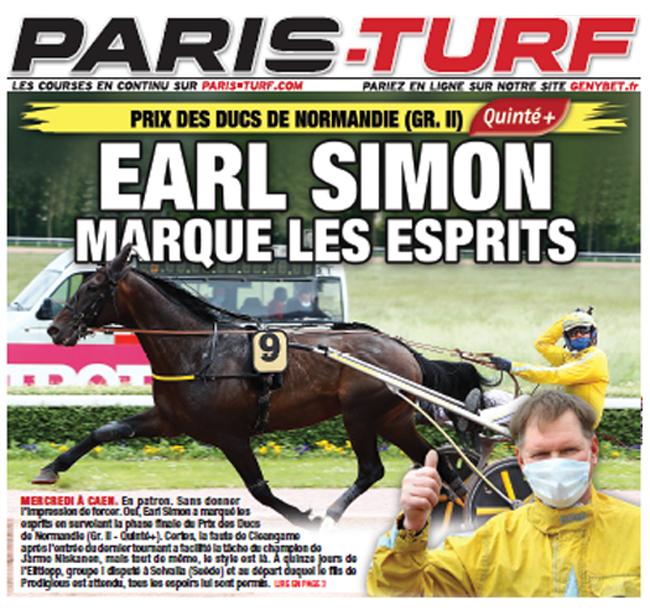 Earl Simon paris turf