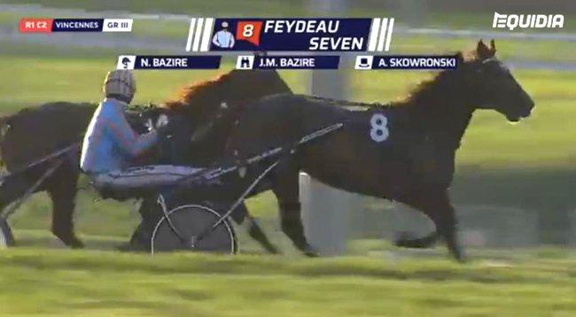 Victoire de Feydeau Seven le 23 oct