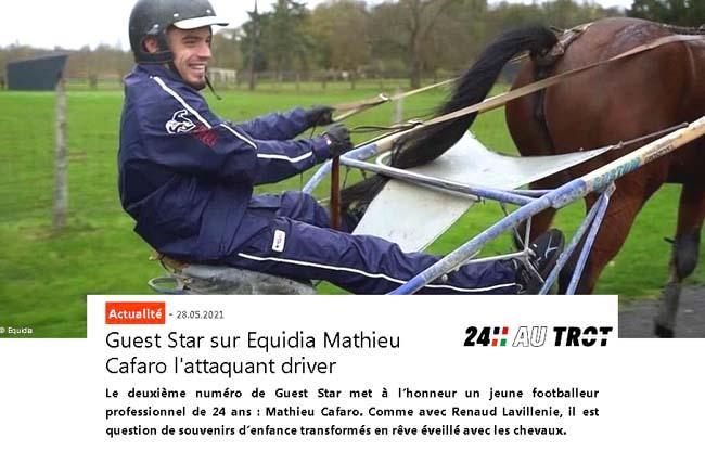 Mathieu Cafaro. Comme avec Renaud Lavillenie